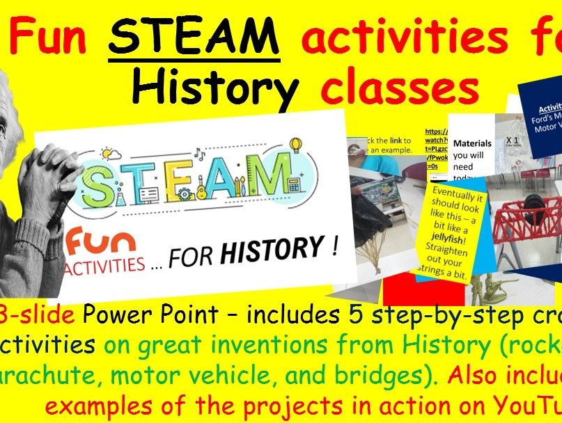 Fun STEAM activities for History