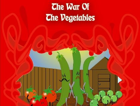 Sample Pages For The War of the Vegetables Play Script