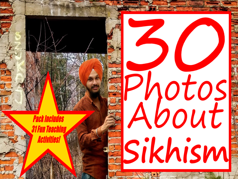 30 Images Of Sikhism + 31 Fun Teaching Activities For These Cards