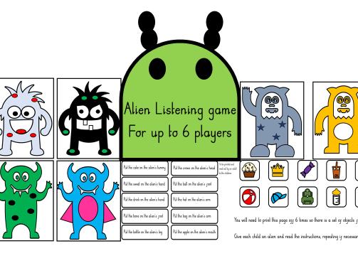 Alien Listening Game