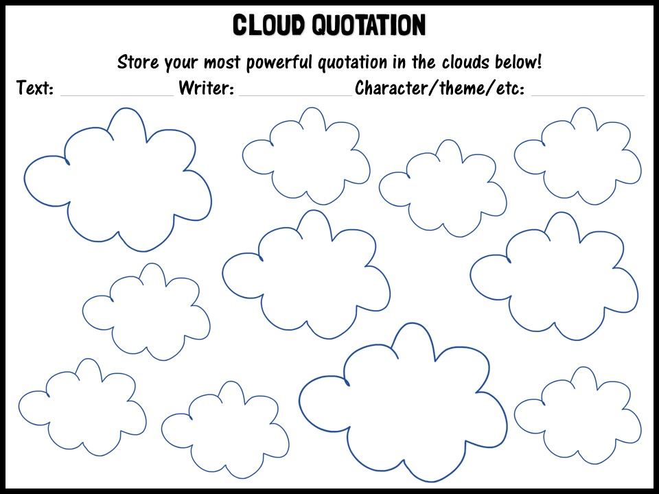 Cloud quotation