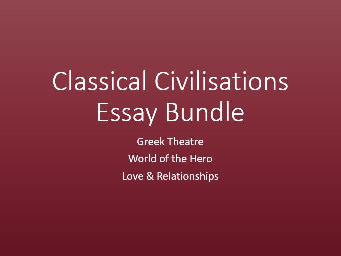 Classical Civilisations Essay Bundle