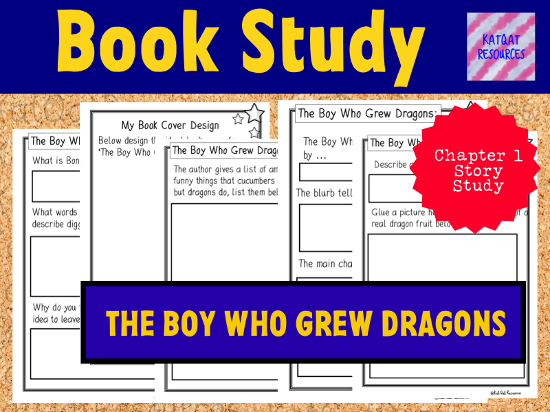 The Boy Who Grew Dragons Reading Comprehension - Chapter 1