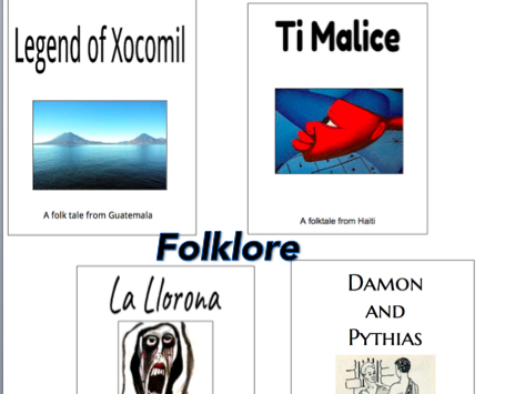 Middle school stories and books resources