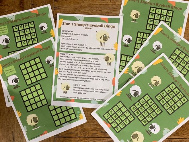 Fragonwood Sion's Sheep's Eyeball Bingo
