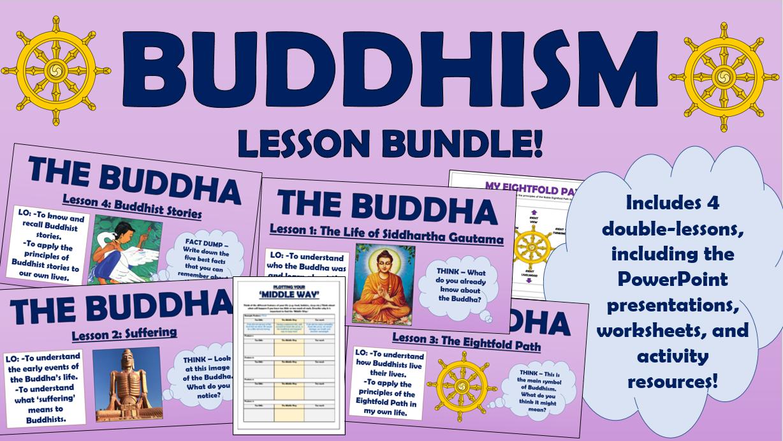 Buddhism KS2 Lesson Bundle!