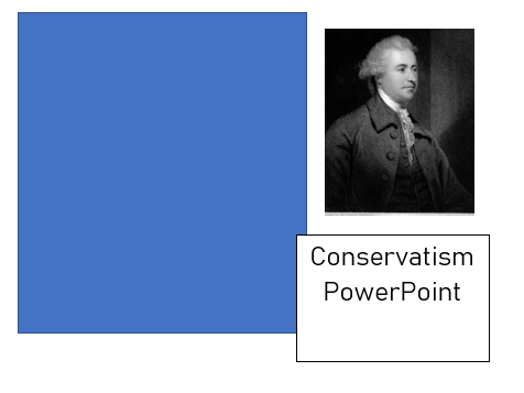 Conservatism ideology powerpoint