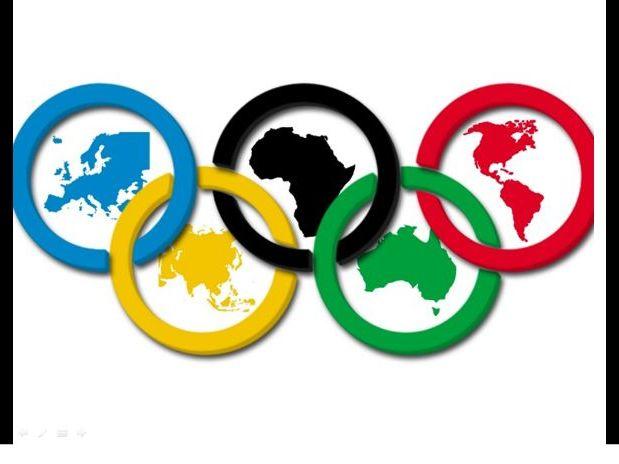 Die Olympischen Spiele Events wunderbare Welt