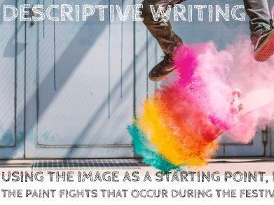 Holi Descriptive Writing: Language Paper 01B