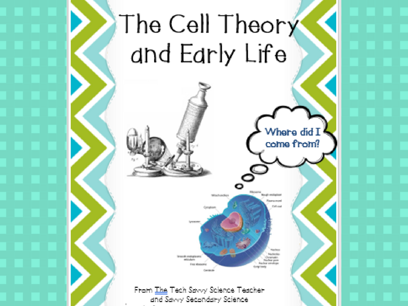 Cell Theory and Early Life Scaffolded Notes