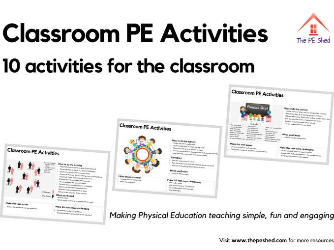 10 Classroom PE Activities