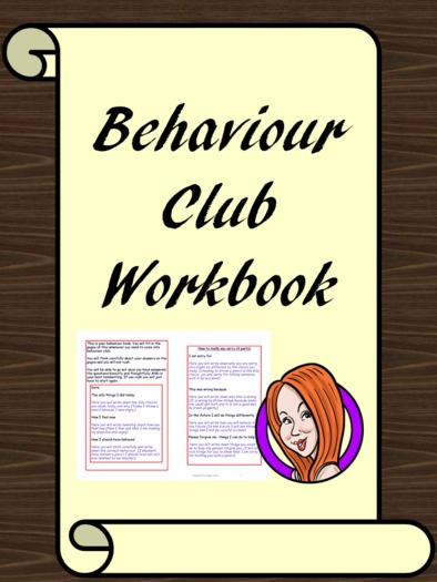Behaviour Club Booklet - PSHE and Behaviour Management