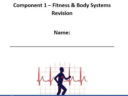 Edexcel New GCSE PE. Component 1 Revision Workbook.