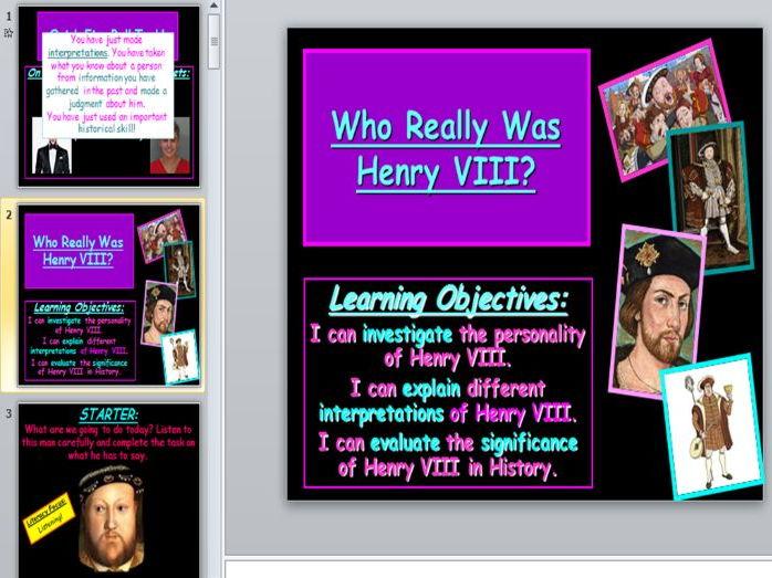 Henry VIII Interpretations