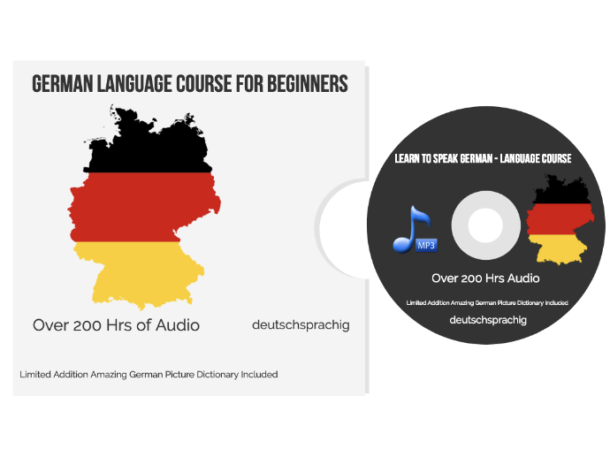 Learn to speak GERMAN - The Complete Language Training Course MP3 Audio 200 HRS