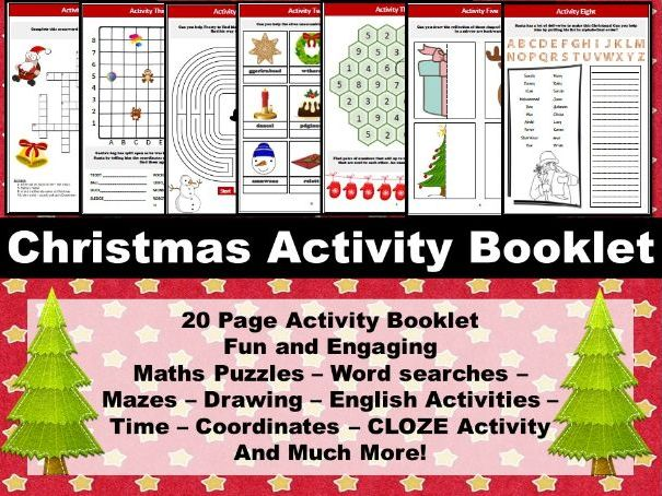 Christmas Activity Booklet / Worksheets