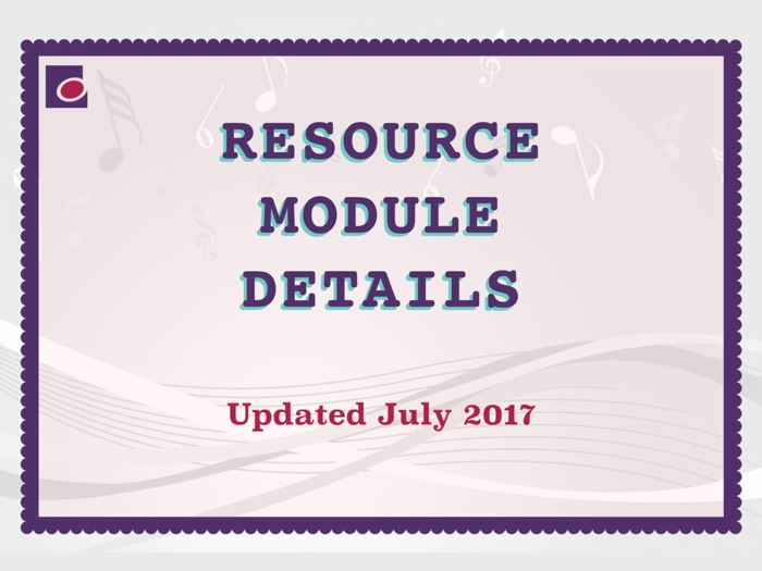 Resource Details
