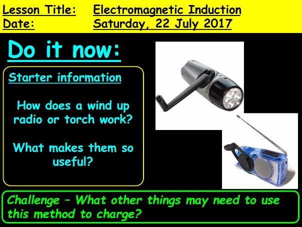 Electromagnetic Induction: GCSE 9-1 Physics