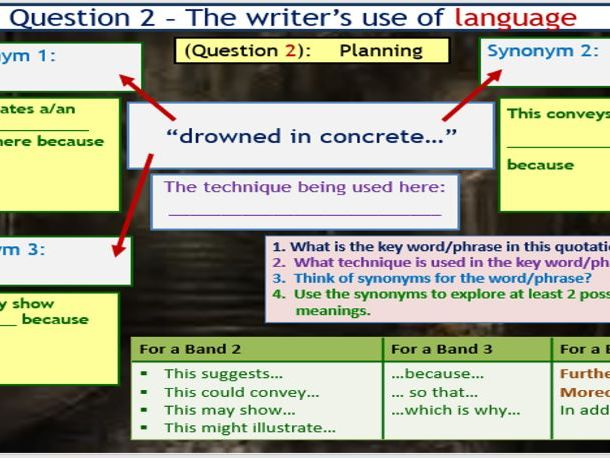 AQA English Language Paper 1 - Section A