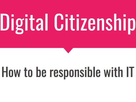 PSHEE: Digital Citizenship, Year 8