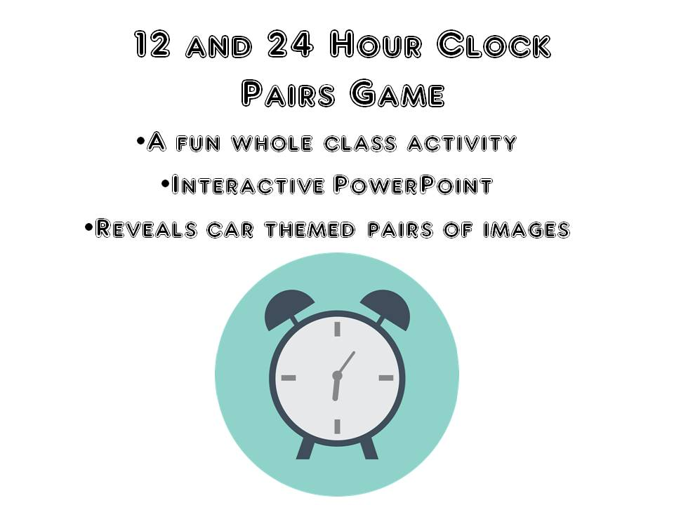 24 Hour Clock Game
