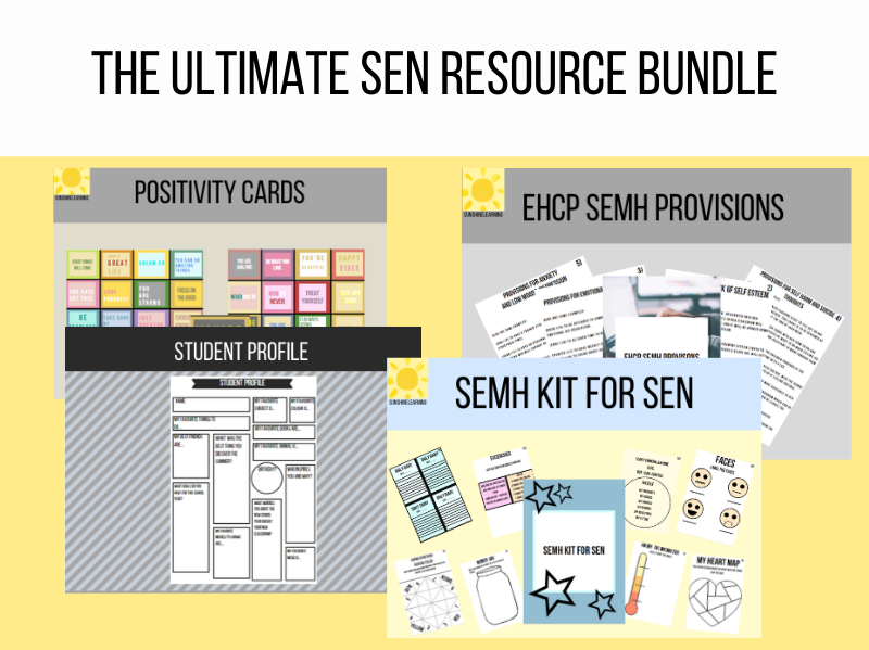 The ultimate SEN resource bundle