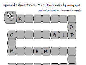 Computer Science - Input and Output Devices - Starter Task