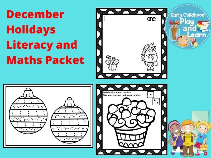 December Holidays Literacy and Maths