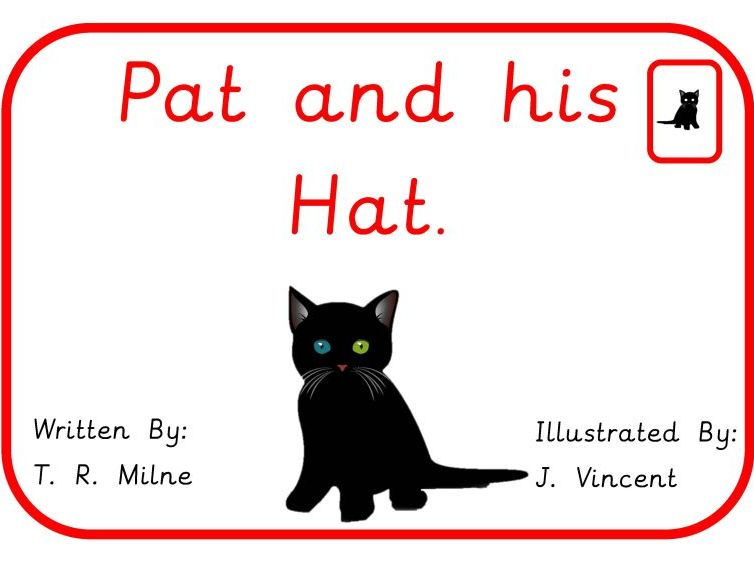 Pat and his Hat Book