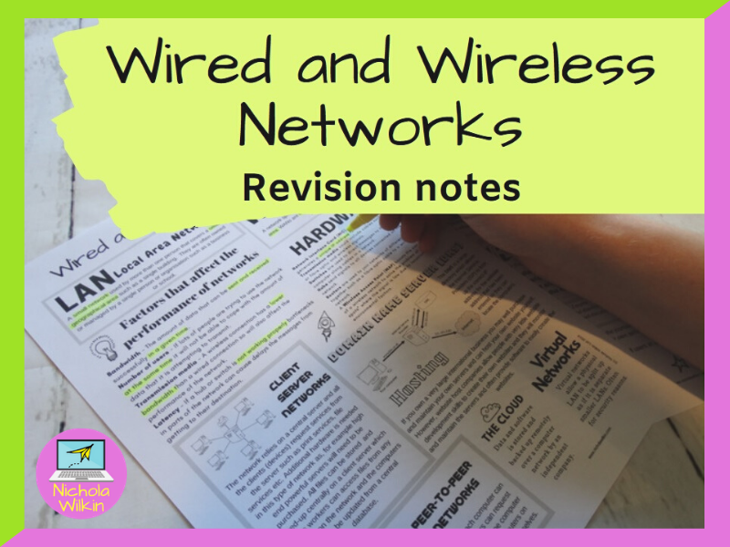 Wired and Wireless Networks Revision Knowledge Organiser