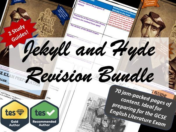 Complete Jekyll and Hyde study pack - Revision Guide and Exam Question Booklet