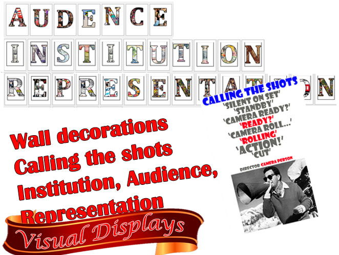 Amazing GCSE MEDIA Visual displays GET A*/A's #1