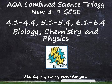 AQA Combined Science Trilogy: Biology,  Chemistry and Physics