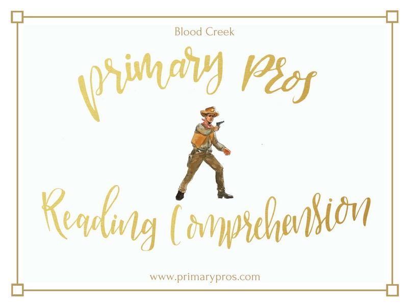 Year 3 & 4 Reading Comprehension - Blood Creek
