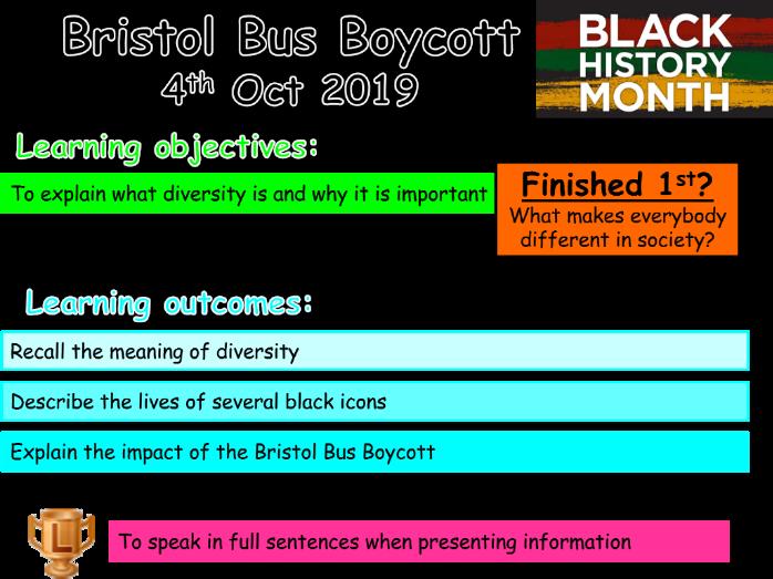 Black History Month: Bristol Bus Boycott