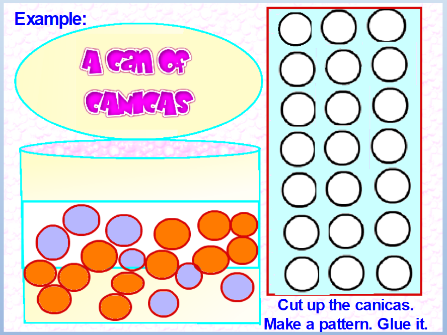 Marble Math: Canicas.  Doing Math with Marbles