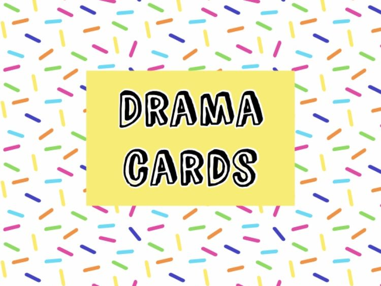 Drama Cards (Plot, Setting and Props)
