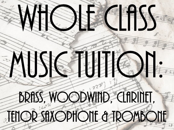Whole Class Music Tuition: Bundle
