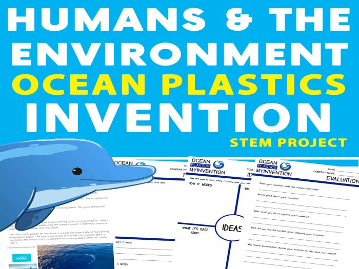 Pollution - Ocean Plastics: Clean Up Invention Project