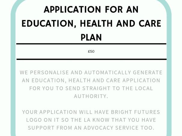 Education, Health and Care Plan Application for Parents