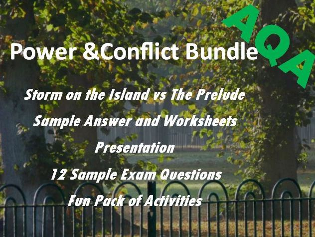 Storm on the Island Prelude: Power and Conflict Revision