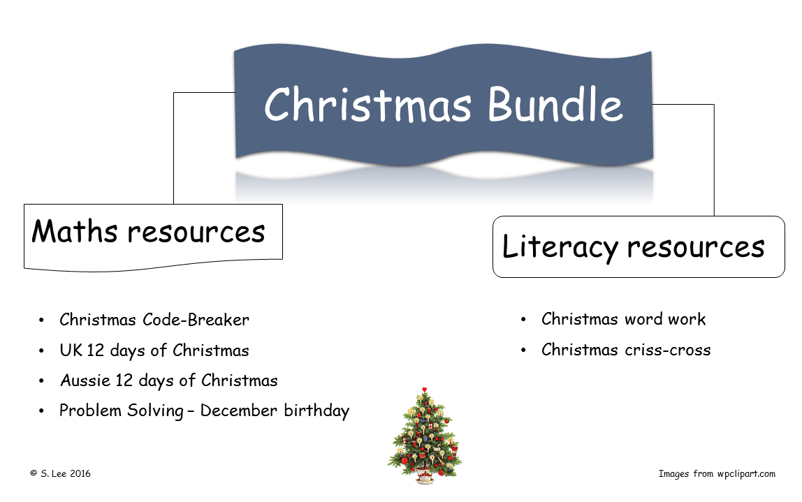 Christmas Literacy & Numeracy activities