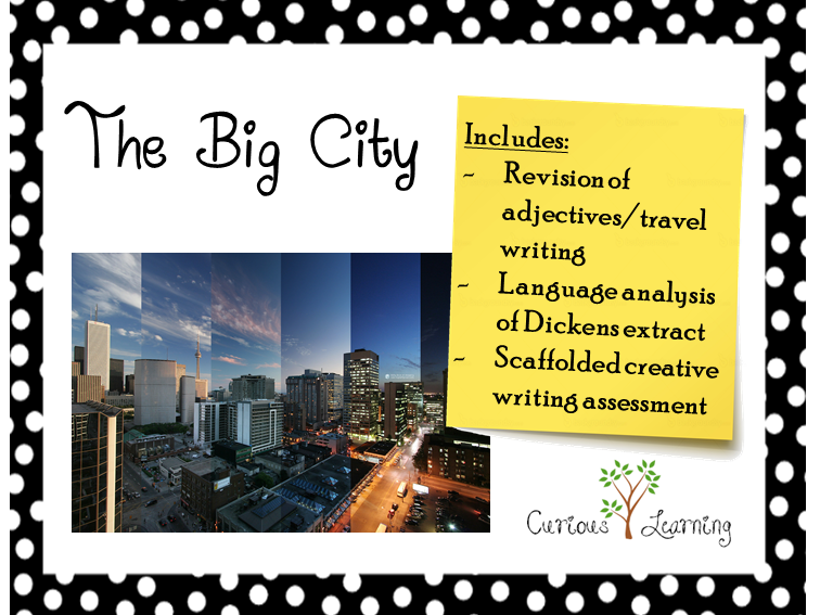Writing about Setting: The Big City