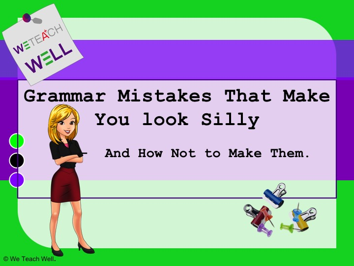 Common Grammar Mistakes and Business bonus.