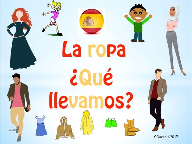 Clothes in Spanish and Colour Adjectives - A Complete Guide.