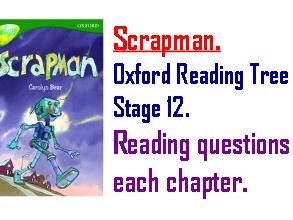 Scrapman Reading Questions. KS2 .