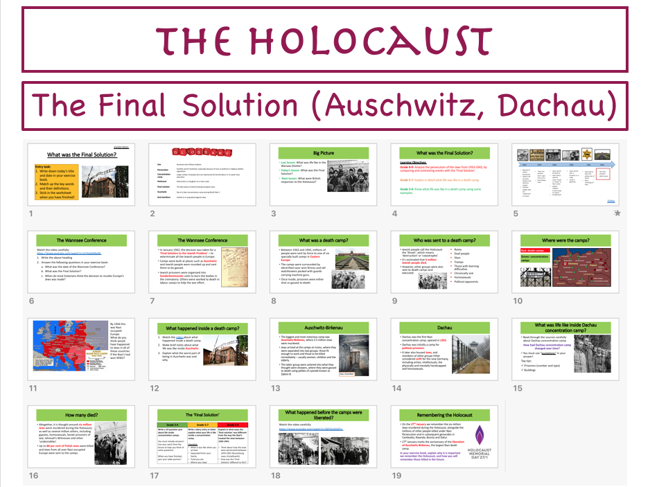 Holocaust: The Final Solution