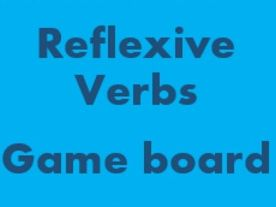 Reflexive Verbs Game board for Smartboard