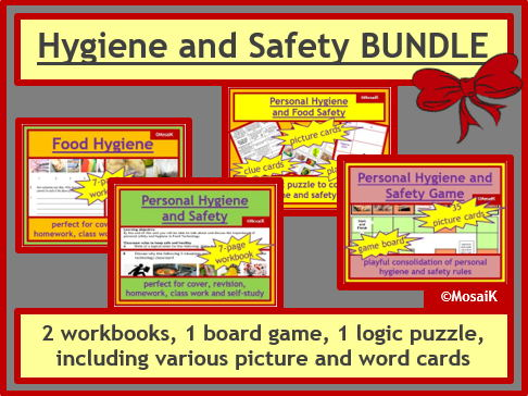 Hygiene Safety Food Nutrition BUNDLE