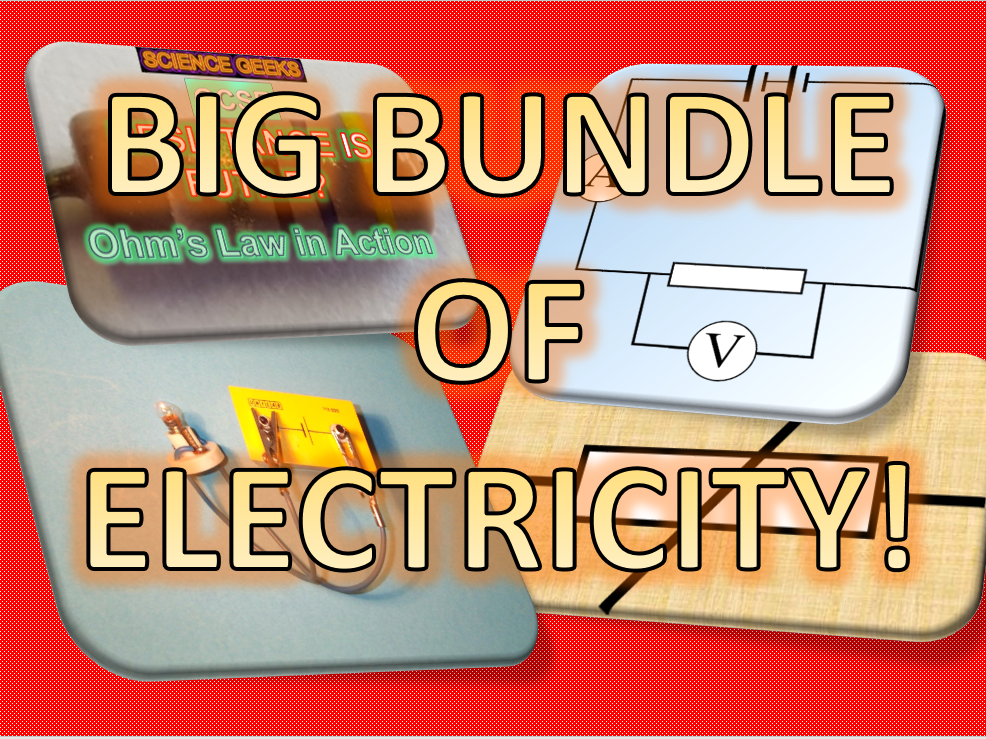 BIG BUNDLE OF ELECTRICITY!